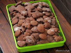 Pierniczki miękkie od razu po upieczeniu Dog Food Recipes, Cake Recipes, Food Cakes, Almond, Food And Drink, Snacks, Cookies, Ginger Beard, Treats
