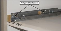 A tutorial for installing IKEA drawer pullouts in face frame kitchen cabinets. Glass Backsplash Kitchen, Kitchen Cabinets Decor, Cabinet Decor, Kitchen Interior, Kitchen Storage, Kitchen Ideas, Kitchen Design, Ikea Drawers, Drawer Rails