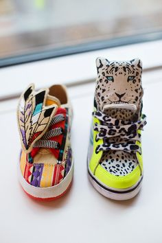 kids sneakers spring summer 2014 @ Simmone Star. I can see Sage or lil rockin' these.