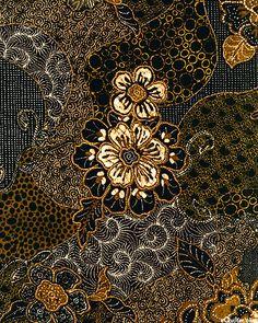 Bali Hai - More Than A Garden Print - Quilt Fabrics from www.eQuilter.com