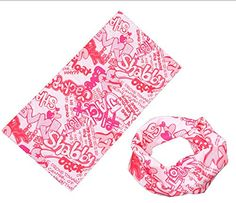 Muzeli Headband [Prints]-mutiple Sports Headwears-neck Gaiter, Bandana, Balaclava, Helmet Liner, Mask Perfect for Athletic and Casual Wear (Pink) MuzeLi http://www.amazon.com/dp/B00YOXWN18/ref=cm_sw_r_pi_dp_kcQBvb1FMP4TK