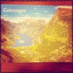2013-07-08 #Postcard from #Norway (NO-78252) via #postcrossing #Geiranger #Padgram