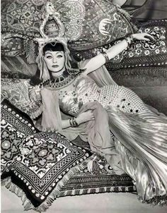 Lucille Ball... in textile heaven!