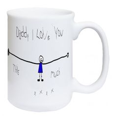 Daddy I love you this much, Fathers Day gift