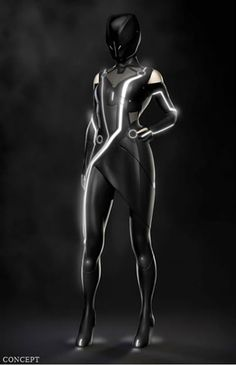 Futuristic Fashion, Quorra Costume Design - Tron Legacy