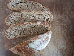 Homemade bread with loades of seeds