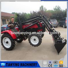 Compact mini tractors with front end loader for sale