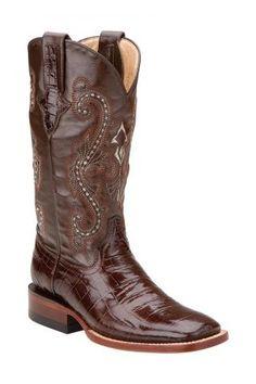 Ferrini+Boots+PRT+BELLY+GTOR+STOE+CHOC+11B+Cowboy+Boots+Urban+