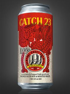 Central Coast Brewing's Catch 23 can created by Guru Design.