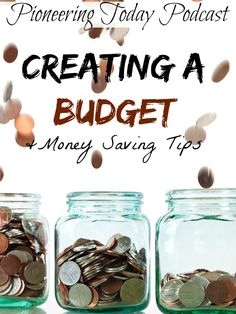 10 Tips for creating a budget. Great tips for saving money, creating a budget, and being prepared while building up savings.