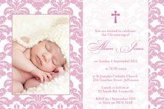 baptism invitations templates