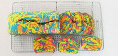 Rainbow Tie-Dye Surprise Cake | Maybe if I'm really ambitious one day I'll make this!