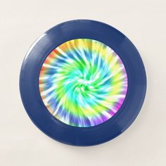 Tie Dye Design Wham-O Ultimate Frisbee - tap/click to personalize and buy #fun, #sport, #game, #summer, #outdoors,