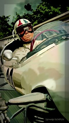 (Spen Art by Grand Prix, James Garner [movie car series] James Garner Movies, Cars Series, Classic Motors, Car Posters, Airbrush Art, Automotive Art, Music Film, Car Painting, Automobile