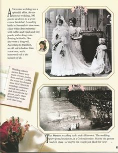American Girl Magazine - January 1993/February 1993 Issue - Page 22 (Part 3 of Looking Back - Wedding Album)