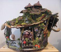 Fairy Houses - Living in the Family Room Blog - Martha Stewart