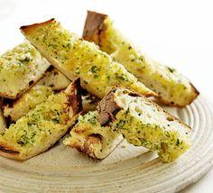 Garlic Bread Toasts Recipe on Yummly