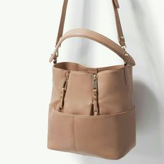 Zara Bag With Zips