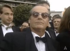 Welcome to the official Oscars Giphy page. Ernest Hemingway, Jack Nicholson Gif, Goofy Face, The Big Boss, Actor Studio, Michael Keaton, Funny Faces, Funny Gifs, The Shining