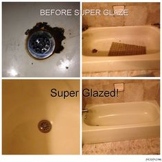 Super #Glaze can help you out to get the bath #reglazing service by providing #remodeling and refinishing to your old and faded tiles, #counter-top and bathtub.