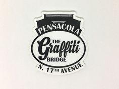 The Graffiti Bridge Classic Sticker