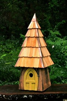 Lord of the Wing Bird House- Yellow Bird Houses | Yellow Lord of the Wings Birdhouse [HRTWD-195D] -  - It's Free! : MyBarnwoodFrames.com | Barnwood Frames, Rustic Picture Frames, Rustic Mirrors & Home Decor