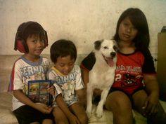 Jordan, Jordie, Shiro and my lovely wife