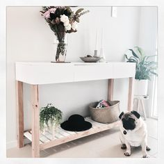 """129 Likes, 13 Comments - Interior Decorating (@jayde.style) on Instagram: """"New Jimmy Console from @mockaaustralia  And the ever photo bombing Herbert Hassett  He looks so…"""""""