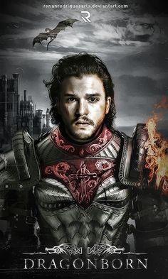 King Jon of Houses Targaryen/Stark