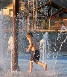 build your own backyard splash pad