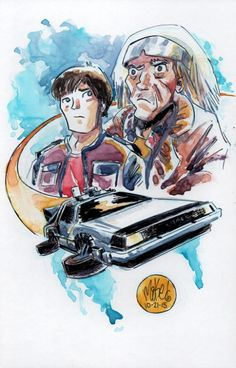 Back To The Future by Mike Maihack