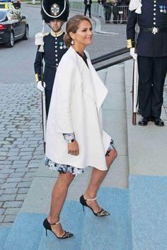Princesa Madeleine - cumpleaños Gustavo de Suecia