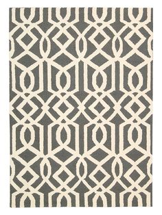 Linear Hand-Tufted Rug by Nourison at Gilt