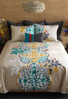 love the bed spread