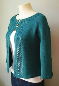 "Another pinner wrote, ""Knit this for myself last year. Turned out well.  (Tip: use two row counters!)"""