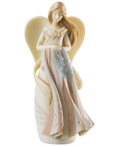 Foundations Collectible Figurine, Guardian Angel - Christmas Decorations - Holiday Lane - Macy's