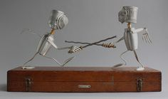 Fencing - Found Object Robot Assemblage Sculpture By Brian Marshall | Flickr - Photo Sharing!