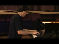 Rafal Blechacz - Chopin Prelude 24, he won the 2005 Chopin competition when he was 20 years old.