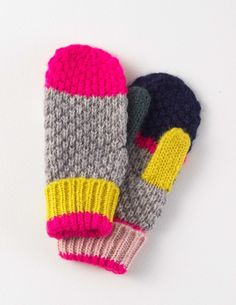 New in Knitted Mittens Mittens Pattern, Knit Mittens, Knitted Gloves, Free Knitting, Knitting Patterns, Crochet Patterns, Knit Crochet, Crochet Hats, Textiles