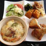 喜菜亭(きなてい)は、奈良で初の100%ベジタリアンレストラン