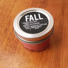 Fall Candle Gifts Home Decor Candles Scented Candle by EttaArlene  #fall #candle #home