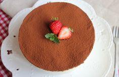 Domáce tiramisu s mascarpone - Receptik. Chocolate Strawberry Cake, Strawberry Cakes, Chocolate Cake, Ricotta, Bolo Tiramisu, Sans Gluten, Cheesecakes, Crepes, Pudding