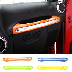 Newest ABS Front Copilot Armrest Storage Box Handle Decoration For Jeep Wrangler Jeep Wrangler 2011, Jeep Wrangler Renegade, Jeep Wrangler Interior, Interior Design Courses, Home Interior Design, Interior Barn Doors, Interior Paint, Accessories Store, Interior Accessories