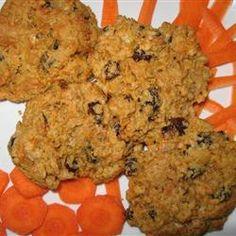 Peanut Butter Carrot Cookies Allrecipes.com
