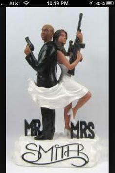 Mr. And Mrs. Creek wedding theme