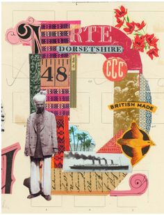 Creative Collage, Prettyclever, Martin, Neill, and Letterology image ideas & inspiration on Designspiration Collages, Collage Artists, Collage Book, Poster Collage, Word Collage, Photomontage, Illustrations, Illustration Art, Cuadros Diy
