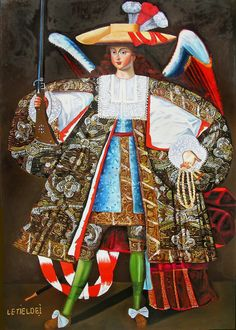 Angels have appeared in works of art since early Christian art, and they have been a popular subject for Byzantine and European paintings and sculpture. Pintura Colonial, Colonial Art, Spanish Colonial, Equador Quito, Angel Warrior, Baroque Art, European Paintings, Spain, Angels