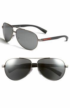 c899768657d80 Prada Aviator Sunglasses   I Want! Nordstrom Sunglasses, Aviators, Mens  Fall, Fall
