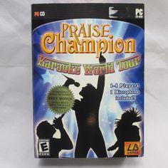 Praise Champion Karaoke World Tour Windows PC Video Game #christian #praisethelord