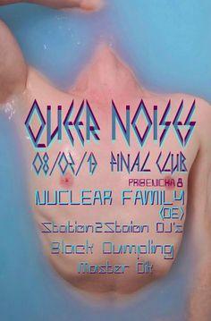 work for Final Art bar Queer Noises event